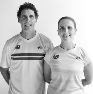 Dickson Tennis coaches at Sunshine Tennis Club