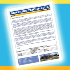 Sunshine Tennis Club eNEWS download