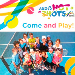 ANZ Hot Shots at Sunshine Tennis Club